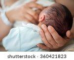 newborn baby first days... | Shutterstock . vector #360421823