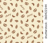 bakery seamless pattern. simple ... | Shutterstock .eps vector #360422144