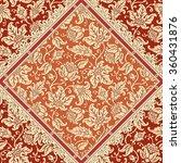 seamless floral pattern.... | Shutterstock .eps vector #360431876