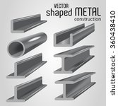 types of metal products. vector ... | Shutterstock .eps vector #360438410