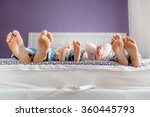 Funny Family Feet. Mother ...