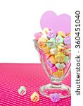 Valentine Candy Hearts With...