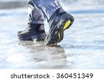 male or female winter boots... | Shutterstock . vector #360451349