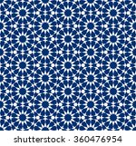 seamless pattern in moroccan...