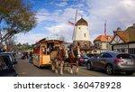 solvang  california   january 1 ... | Shutterstock . vector #360478928