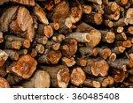 wood logs texture   background | Shutterstock . vector #360485408