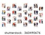 achievement idea many...   Shutterstock . vector #360490676