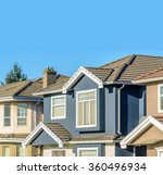 the roof of the house with nice ... | Shutterstock . vector #360496934