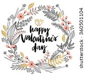 valentine s day lettering...