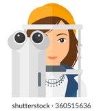 patient visiting...   Shutterstock .eps vector #360515636