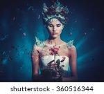 Winter Beauty Fantasy Woman...