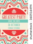 vector design awesome wedding... | Shutterstock .eps vector #360516494