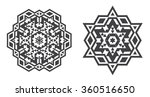 israel jew ethnic fractal...