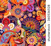 colorful bright seamless pattern | Shutterstock .eps vector #360536528