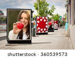 love billboards  photographs of ... | Shutterstock . vector #360539573