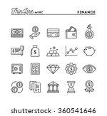 finance  money  banking ... | Shutterstock .eps vector #360541646