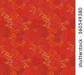 valentine background. seamless...   Shutterstock .eps vector #360549380