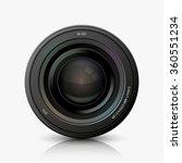 vector modern camera icon on...   Shutterstock .eps vector #360551234