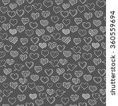 happy valentine's day pattern | Shutterstock .eps vector #360559694