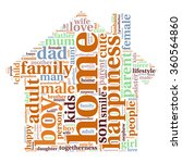 family info text graphics and... | Shutterstock .eps vector #360564860