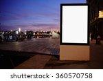 Illuminated Blank Billboard...