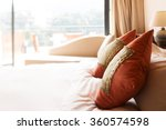 decoration and furniture in... | Shutterstock . vector #360574598