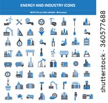 energy industry construction... | Shutterstock .eps vector #360577688
