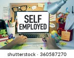 Small photo of Self Employed Business Concept
