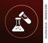 beaker icon   Shutterstock .eps vector #360602180