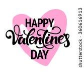typographic design 'happy... | Shutterstock .eps vector #360616913