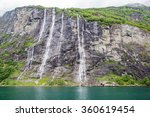 The Seven Sisters Waterfall In...