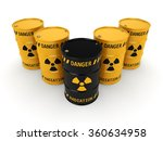 yellow and black radioactive... | Shutterstock . vector #360634958