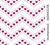 seamless hearts pattern.... | Shutterstock .eps vector #360642158