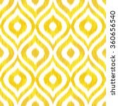 seamless geometric tribal faux... | Shutterstock .eps vector #360656540