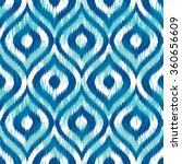 seamless geometric tribal faux... | Shutterstock .eps vector #360656609