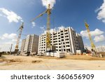 construction site on which to... | Shutterstock . vector #360656909
