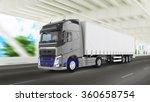 cargo truck | Shutterstock . vector #360658754