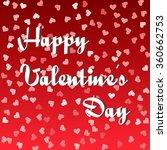 heart illustration valentines... | Shutterstock .eps vector #360662753