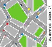 street background | Shutterstock .eps vector #36066427