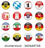 germany states flag collection... | Shutterstock .eps vector #360668768