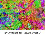 a colorful grunge textured... | Shutterstock . vector #360669050