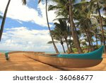 long outrigger canoe