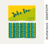 business card vector background....