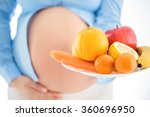 pregnancy and nutrition diet  ... | Shutterstock . vector #360696950