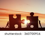 cooperate for successful work | Shutterstock . vector #360700916