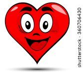 vector illustration of a red... | Shutterstock .eps vector #360706430