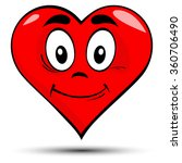 vector illustration of a red... | Shutterstock .eps vector #360706490