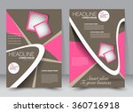 flyer  brochure  magazine cover ... | Shutterstock .eps vector #360716918