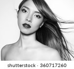 beautiful young asian woman... | Shutterstock . vector #360717260