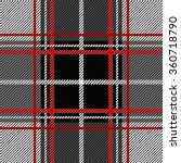 folk plaid seamless checkered... | Shutterstock .eps vector #360718790